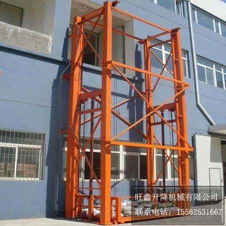 导轨式液压升降货梯8